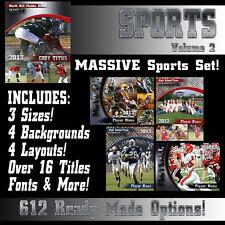 Pro Sports Templates V2 Photoshop PSD Backgrounds Seniors Team Mate