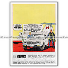 PUB NSU RO80 RO 80 (Albert Weinberg DAN COOPER) Original Advert / Publicité 1968