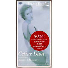 "☆ CD SINGLE Celine DION To love you more 3"" Japon ☆ NEW"