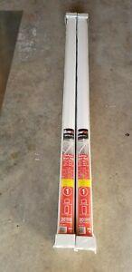 Fiberon WHITE Deluxe STAIR rail railings top & bottom 6'