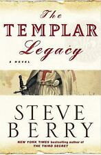 The Templar Legacy Signed!!! 1ST EDITION!!!!! Steve Berry!