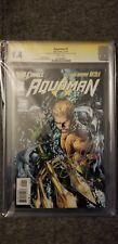 Aquaman 1 New 52 SS Jason Momoa and Ivan Reis