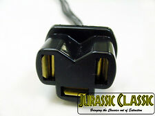 Chrysler 3 Prong Hi/Lo Beam Headlight Bulb Flasher Pigtail Plug Socket Connector