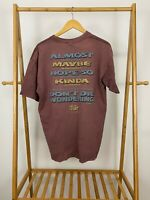 VTG 90s Either You're Saved Or You're Not Don't Die Wondering Bible T-Shirt XL