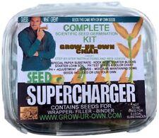 Diy Seed Germinator Kit Gardening Supply Outdoor Indoor Yard Cigar Men Gift New