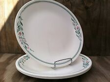 Corelle Dishes Rosemarie White Large Dinner Plates Set Of 4 Used