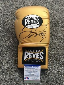 FLOYD MONEY MAYWEATHER SIGNED AUTO CLETO REYES BOXING GLOVE PSA #AI60642