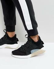 NEW MENS ADIDAS ORIGINALS TUBULAR RISE BLACK LACE UP TRAINERS SNEAKERS UK 10