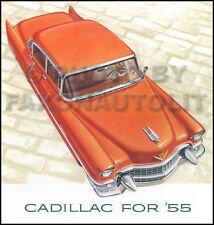 1955 cadillac sales catalog deville eldorado series 62 60 special fleetwood  75
