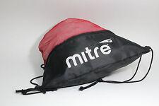 Mitre Soccer Deluxe Zippered Back Pack Drawstring Bag Stringbag School