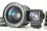 [MINT w/ Finder] Mamiya N 50mm F/4.5 L Lens + Hood for Mamiya 7 7II from Japan