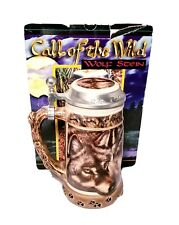 Anheuser Busch Call Of The Wild Wolf Stein New In Box Gerz 1996 Numbered