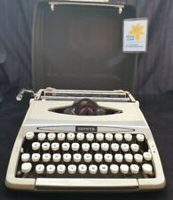 More details for (lym) vintage smith-corona zephyr portable typewriter in case