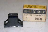 (2 Lot)  Allen-Bradley N14 Thermal Overload Relay Heater Element NIB