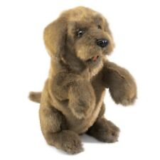 SITTING DOG Puppet 2006 ~ FREE SHIP/USA ~Folkmanis Puppets