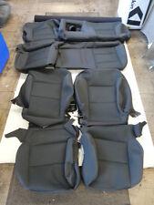 2016-2017 CHEVY SILVERADO CREW CAB Factory Take-off Cloth Covers Black