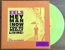 """Eels - Hey Man   7"""" Yellow Vinyl"""