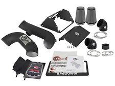 """aFe Magnum Force 3-1/2"""" Stage 2 Pro Dry S Cold Air Intake Super Raptor 17+ Black"""