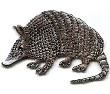 IRON ON PATCH ARMADILLO 2 1/2 X 1 5/8 inch
