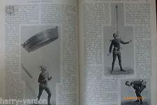 Best Juggler Juggling Paul Cinquevalli Victorian Rare Antique 1897 Photo Article