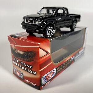 Motormax (6053) Toyota Tacoma 1:64 Diecast Pickup Truck Black w/ Original Box