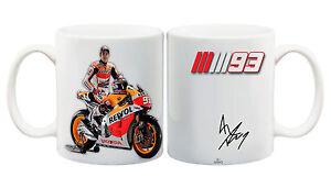 Juko Marc Márquez Motorbike Mug MotoGP Gift Idea