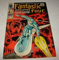 Marvel FANTASTIC FOUR # 72 Silver Surfer & Watcher Kirby Lee SA Classic Cover
