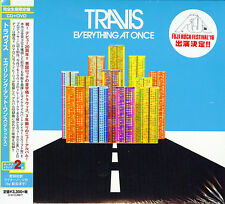 TRAVIS-EVERYTHING AT ONCE (DELUXE)-JAPAN CD+DVD Ltd/Ed H66