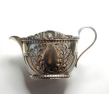 Antique Victorian Sheffield 1893 Solid 925 Silver ATKIN BROTHERS JUG 96.4g