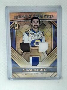 Chase Elliott 2021 Panini Chronicles Gold Standard NASCAR Racing - Triple PATCH