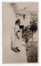 PHOTO ANCIENNE Maroc Casablanca Vers 1930 Portrait Maurice Gueugnon Costume