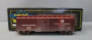 Weaver U3534LD O Pennsylvania Steel Side Box Car #2185 - Weathered/Box