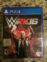 SONY PLAYSTATION Wwe 2k16 Ps4 VG COMPLETE STONE COLD WRESTLING FREE S/H