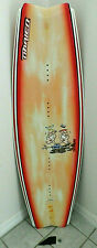"""O'BRIEN SWINDLE 139 WAKEBOARD + FIN WATERSPORTS 54"""" LONG ROUGHLY GOOD vs. EVIL"""