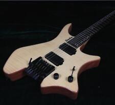 Starshine Headless Electric Guitar Tremolo Bridge One Piece Wood Body Fanne Fret