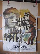 A4580 La rebelión de los simios Roddy McDowall,  Don Murray,  Natalie Trundy,  R