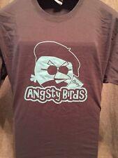 ANGSTY BIRDS ~ Angry Bird Parody ~ Adult / Men's XL T-Shirt~Funny Novelty