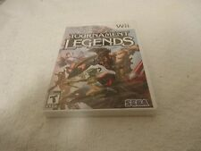 Tournament of Legends Video Game Nintendo Wii New Sealed Free Shipping