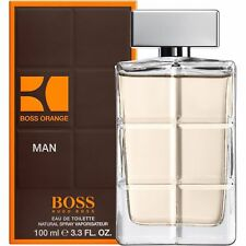 HUGO BOSS Orange Man 100ml EDT for Him BRAND NEW Free 1st Class Delivery