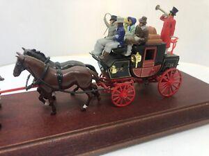 Matchbox Yesteryear - YS-39 Passenger Coach & Horses C. 1820 Diecast Model Coach