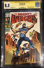 Avengers #63 Stan Lee CGC SS 8.5 Signed Hawkeye Becomes Goliath Key 22 Exists