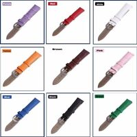 12-22mm Hot Leather Watch Bands Wristwatch Strap Replacement Belt For Women Men