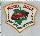 Wood Dale Fire EMS (Illinois)  Shoulder Patch