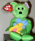 Ty Beanie Baby ~ RAINE the Bear ~ Internet Exclusive ~ MINT with MINT TAGS