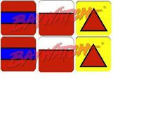 ***2 SETS DROP TARGETS FOR 2016*** BAYWATCH  Pinball  Target  Decals