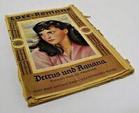 Old German Novel Magazine from 1952 Lore-Romane Der Roman Für Frohe Lesestunden