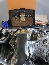 NWT LOUIS VUITTON 2018 Trunk Clutch Crossbody Bag Petite Malle REVERSE M43596