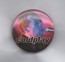 COLDPLAY Chris Martin BUTTON BADGE British Rock Band - Speed Of Sound 25mm D Pin