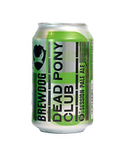Brewdog Dead Pony Pale Ale Cans 330mL case of 24