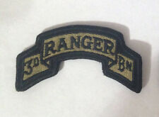 US Army 3rd Ranger BN Multicam OCP Scorpion Hook Fastener Patch Made USA